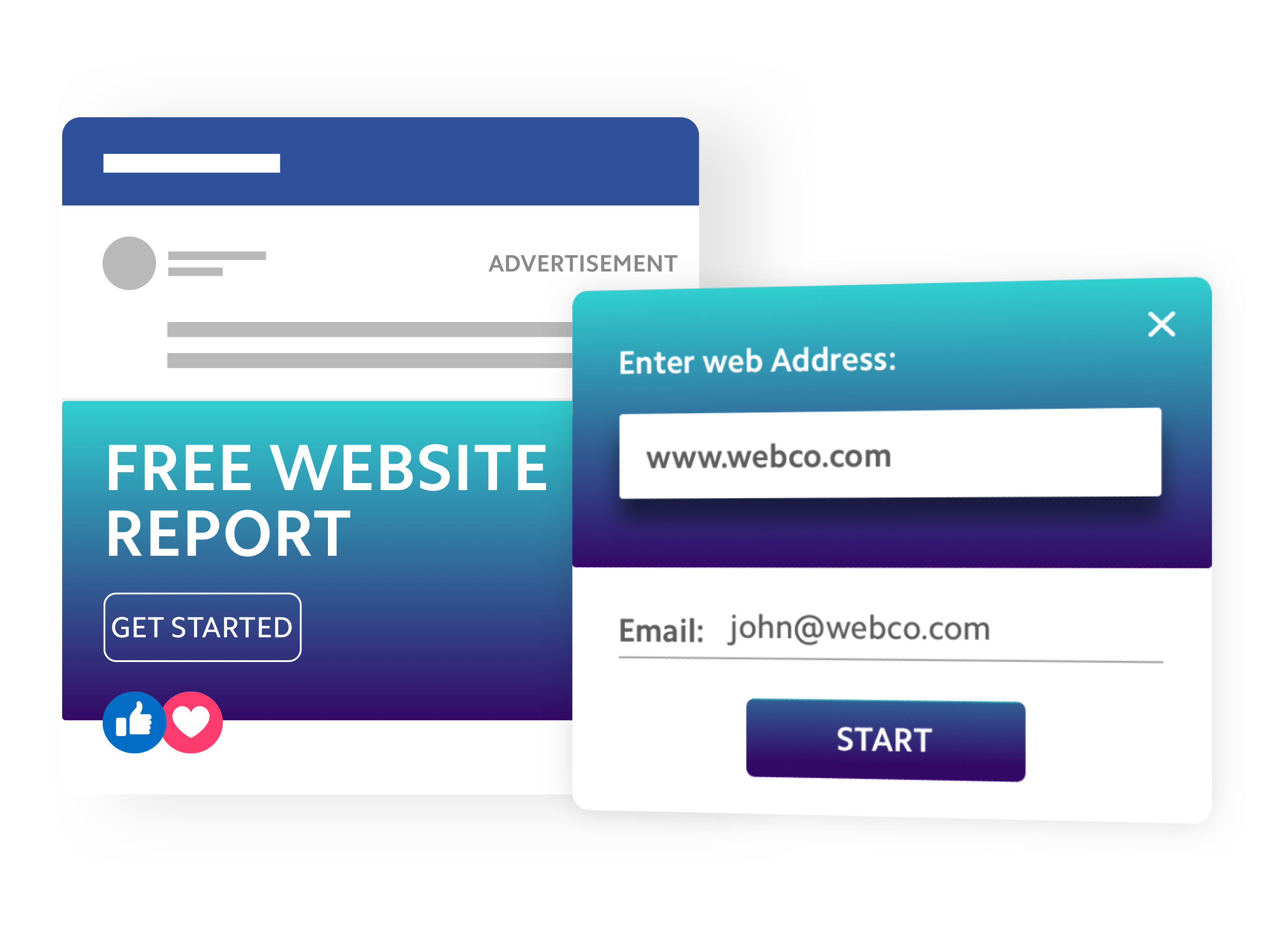 Free website report